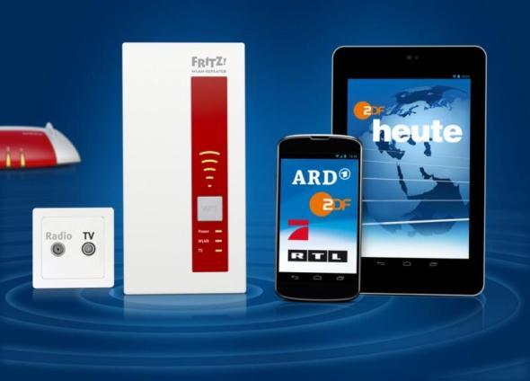 AVM_FRITZWLAN_Repeater_DVB-C_Smartphone_Tablet 1