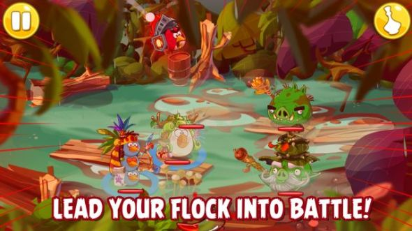 Angry Birds Epic Screen