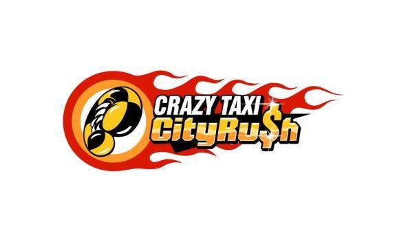 Crazy Taxi City Rush Logo Header