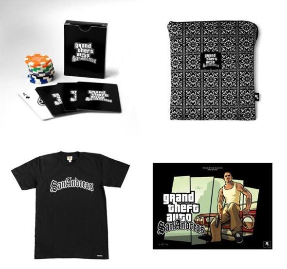GTA SA Merchandise