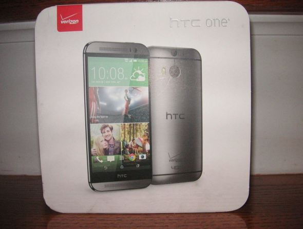 HTC One 2014 Verpackung