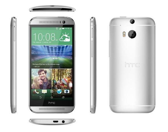 HTC One M8 Alle Seiten