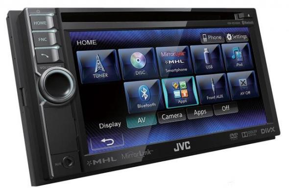 JVC Smartphone AV-Receivers  MirrorLink