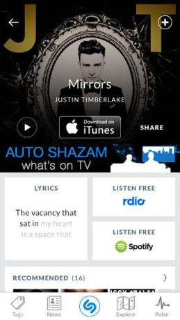 Shazam iOS 01