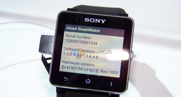 Sony SW 2 Update Watchface 2