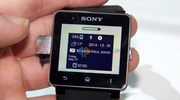Sony SW 2 Update Watchface