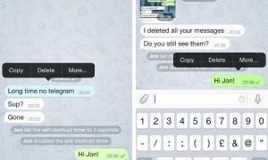 Telegram Secret Chat