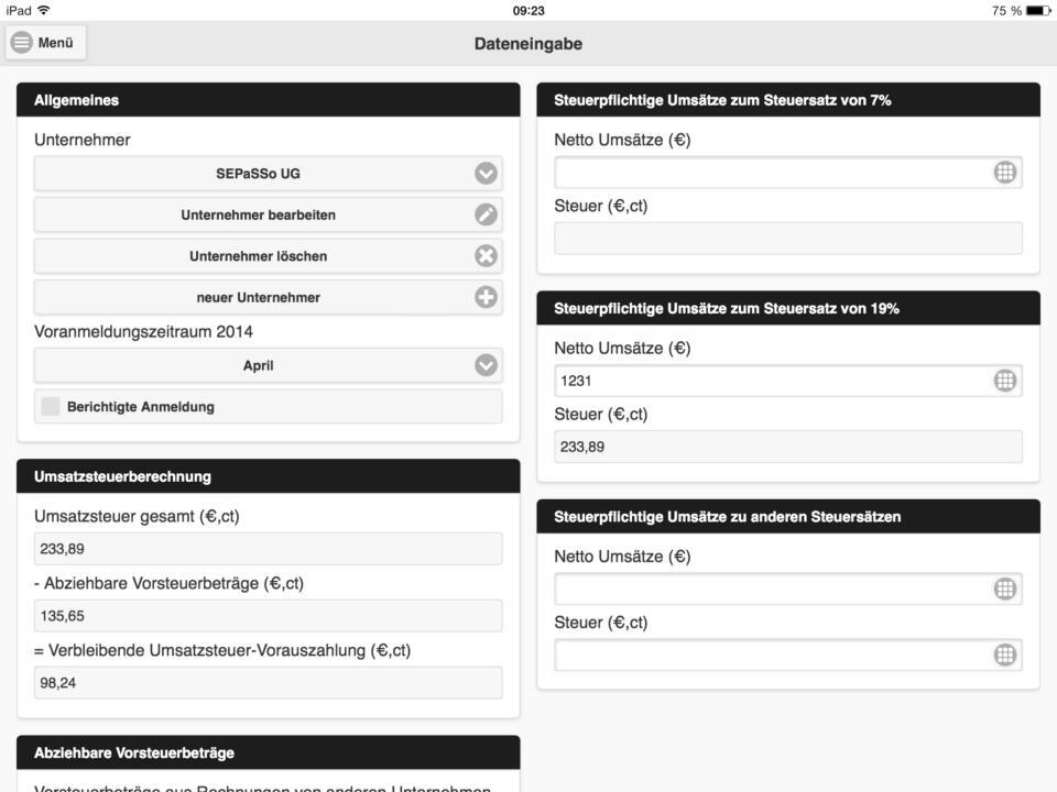 iPad-UStVA 1
