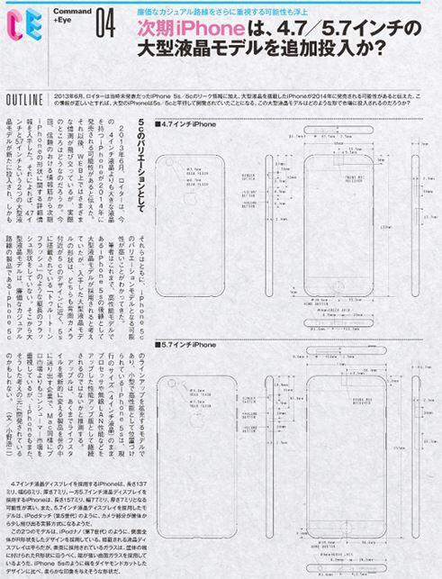 iPhone Konzept Zeichnungen