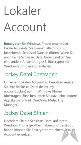 Boxcryptor Windows Phone 8 (6)