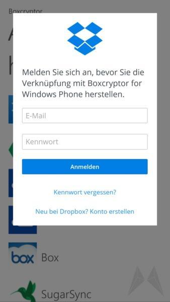 Boxcryptor Windows Phone 8 (7)
