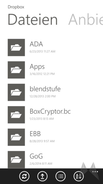 Boxcryptor Windows Phone 8 (8)