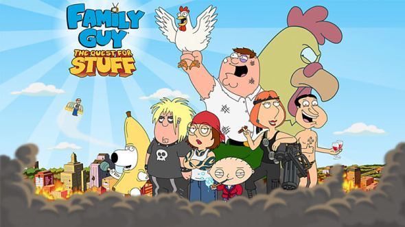 Family Guy The Quest for Stuff Header