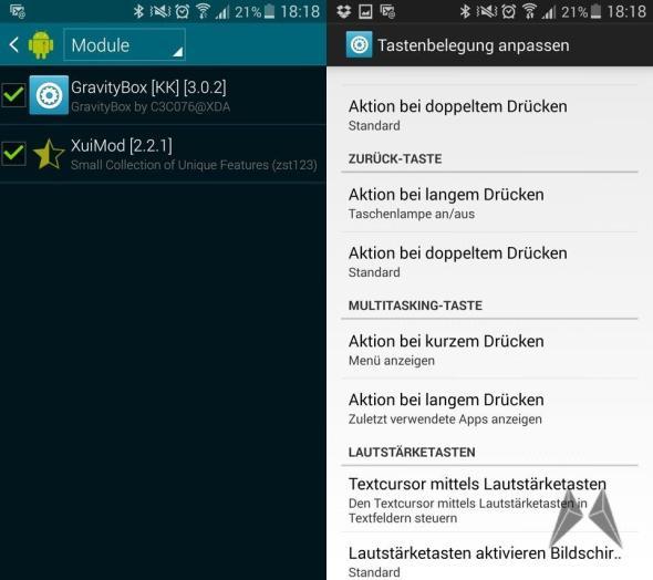 Galaxy S5 Modding Root Xposed
