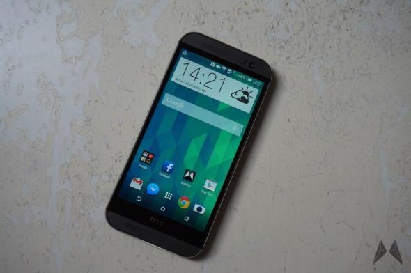 HTC One M8 Frontseite