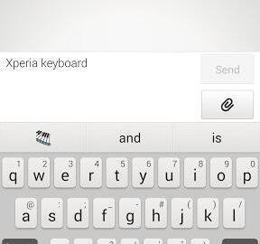 Sony Xperia Tastatur 01