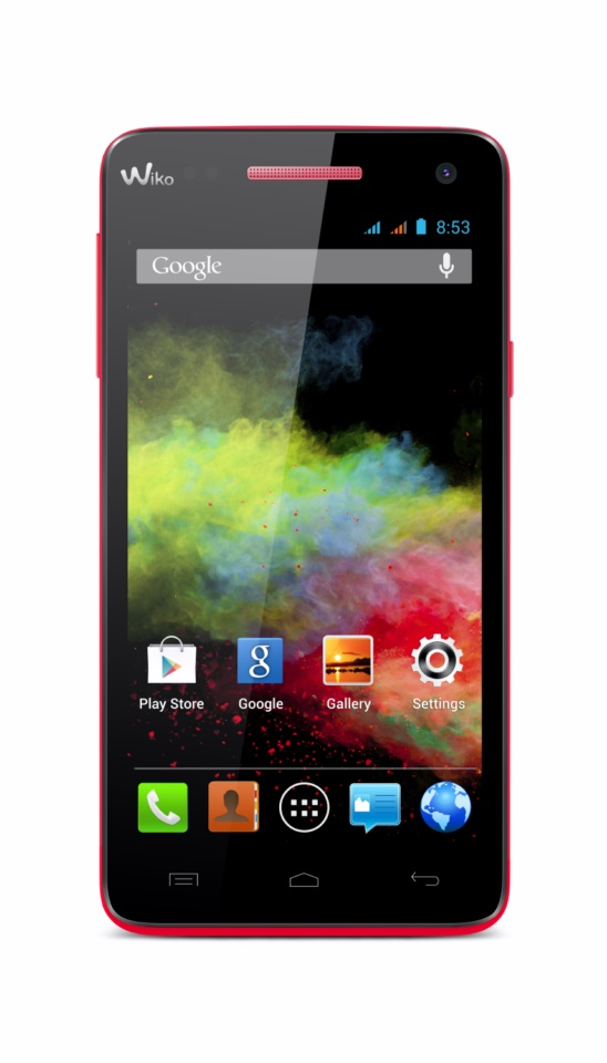 Wiko_RAINBOW_coral_front 6