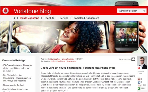 vodafone blog header