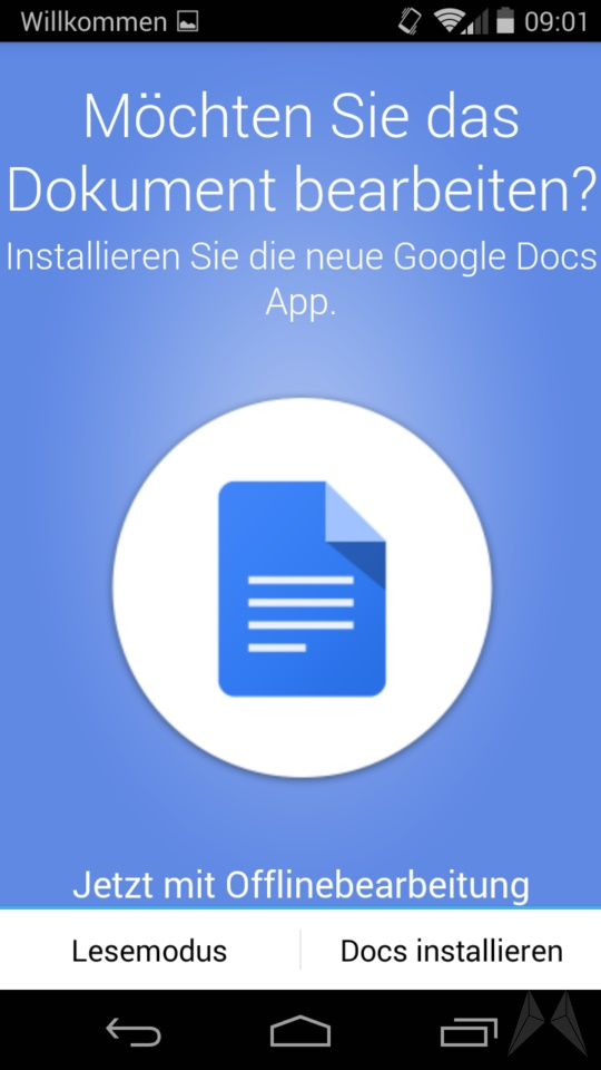 Google Drive 1.3 Android (3)