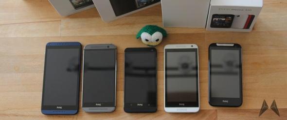 HTC Desire und One