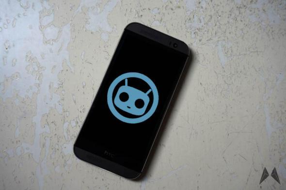 HTC One M8 CyanogenMod
