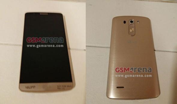 LG G3 Gold Header