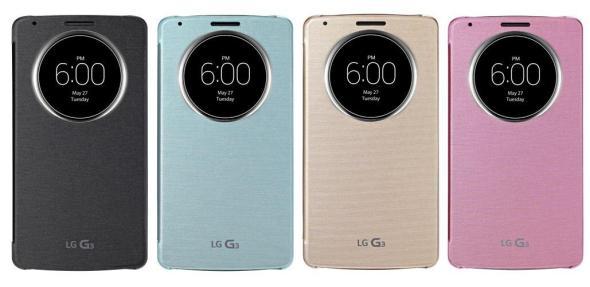LG G3 Quick Circle Case
