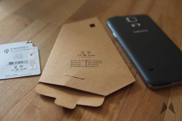 Samsung Galaxy S5 QI Receiver Zubehör IMG_9097