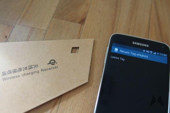 Samsung Galaxy S5 QI Receiver Zubehör IMG_9111