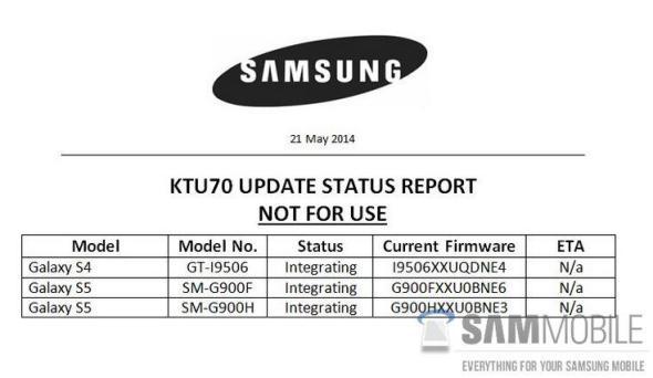 Samsung Update 1