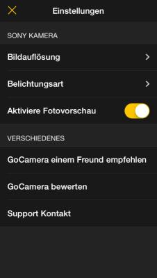 gocamera-settings