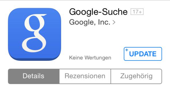 google suche search ios