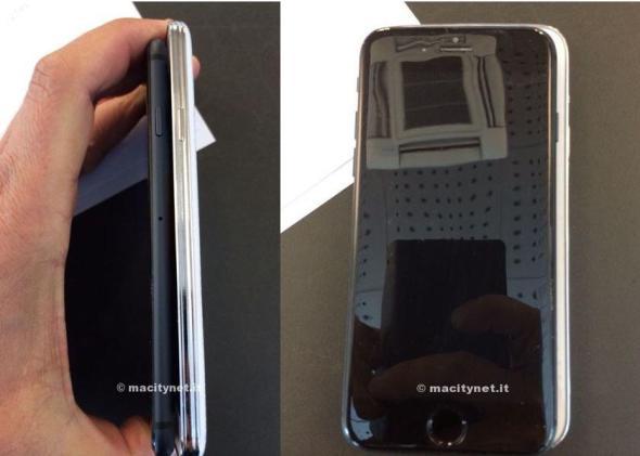 iPhone 6 Mockup Vergleich Galaxy S5