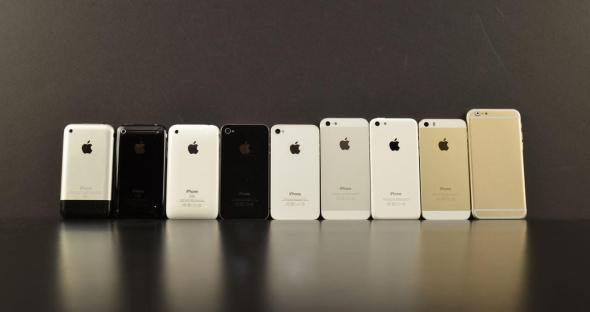 iPhone Mockup Vergleich