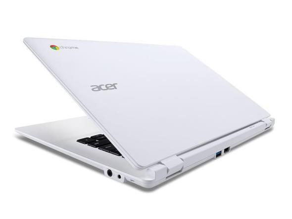 Chromebook CB5: Rückseitige Anschlüsse