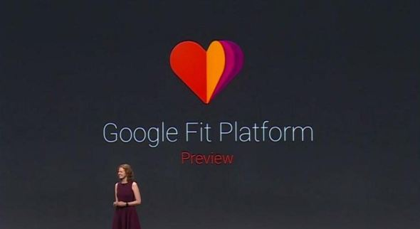 Google Fit Keynote Screenshot