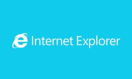 Internet Explorer Logo Header