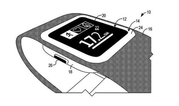 Microsoft Smartwatch Patent Header