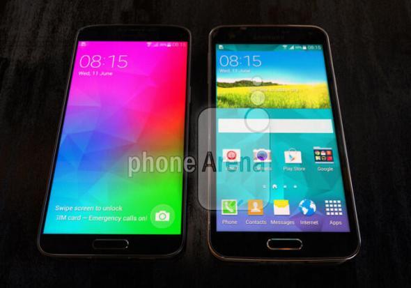 Samsung Galaxy F vs Galaxy S5 Header