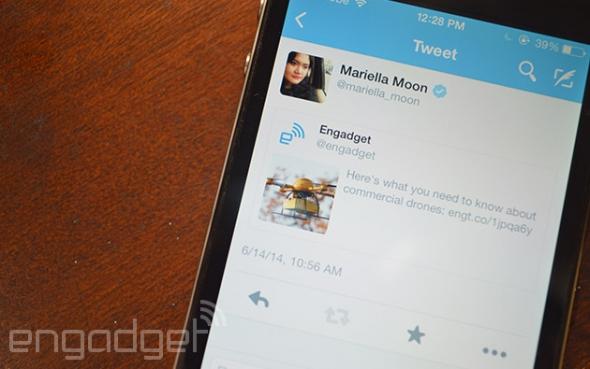 Twitter iOS Tweet-Embed