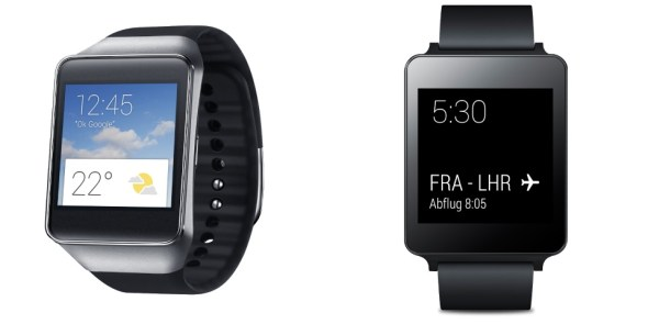 android wear smwartwtaches lg samsung