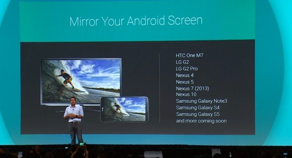 chromecast mirror