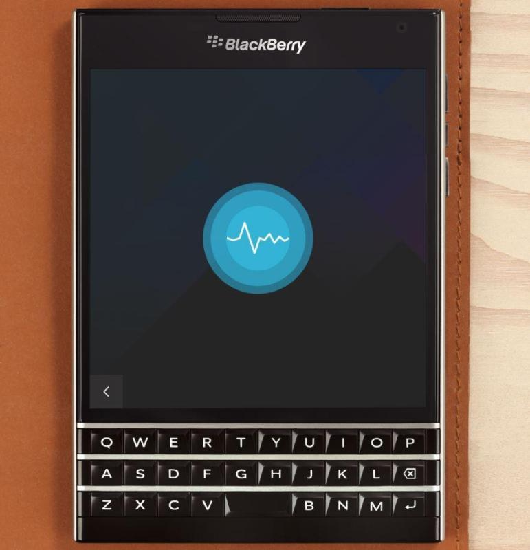 BlackBerry Assistant Header