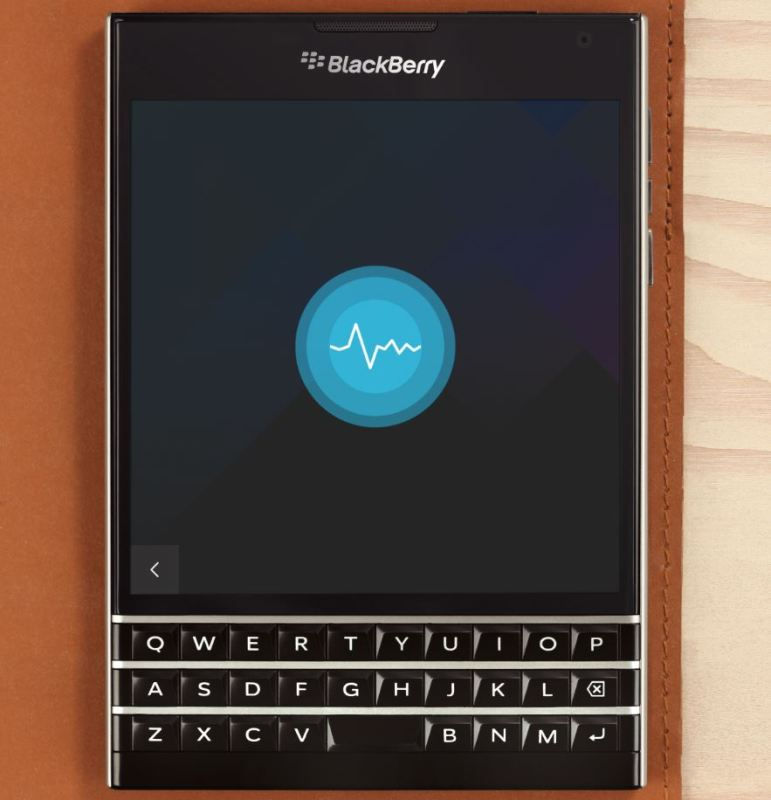 BlackBerry Assistant Header