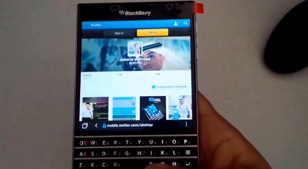 BlackBerry Passport: Video zeigt das Business-Smartphone in Aktion