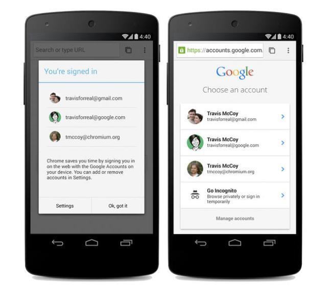 Google Chrome Beta Android