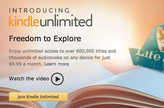 Kindle Unlimited Banner