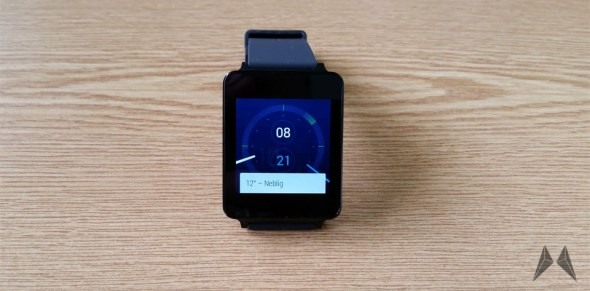 LG G Watch Header