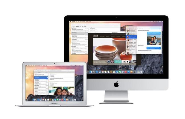 Mac OS X Yosemite Header
