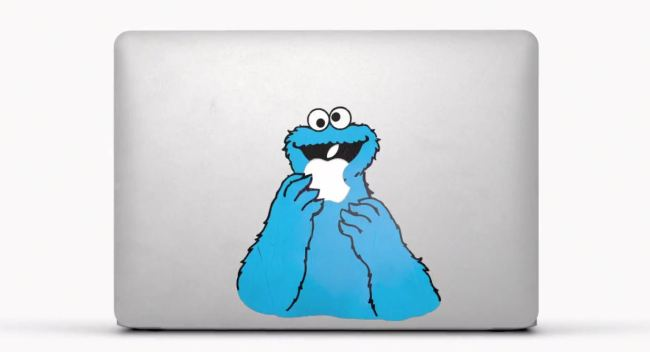 MacBook Air Elmo Sticker